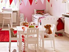 CUTEST table and chair . perfect for a teddy tea party! 4 Kids, Children, My Princess, Table And Chairs, Diy Furniture, Tea Party, Toddler Bed, Baby Things, Kids Rooms