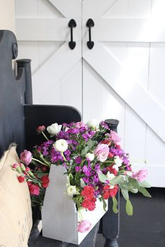 Toolbox Crate Flower