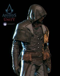 ArtStation - Assassin's Creed Unity - Arno avatars, Vince Rizzi