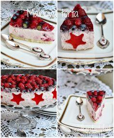 .. chute a vône mojej kuchyne...: Malinová torta