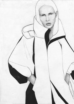 Galya Gisca's fashion illustrations