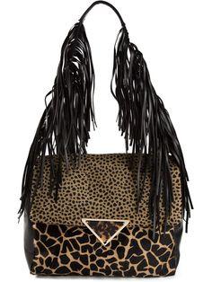 #sarabattaglia #bags #shoulderbags #tote #animalprint www.jofre.eu