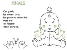 Use these easy guidelines to teach your baby some simple sign language skills and finally learn what goo-goo gah-gah really means. Simple Sign Language, Baby Sign Language, Quilts Vintage, French Signs, Sign Language Interpreter, French Language Learning, Needle Felted, Baby Learning, Kids House