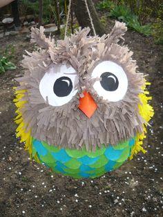 owl pinata - Google Search