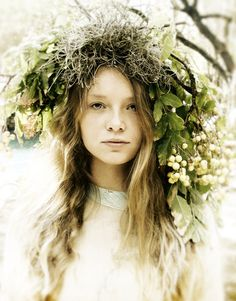 ❀ Flower Maiden Fantasy ❀ beautiful photography of women and flowers - Charlie Terrell