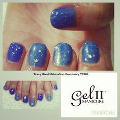 SOMETHING BLUE with Gel ll Manicure  #gelllmanicure #gelll #gelpolish #Reactiongelll #reactionriot #colourchange #cobaltblue #tracysivelleducationemissary #thecreativebeautygroup #nailartaddict #scatchmagazine