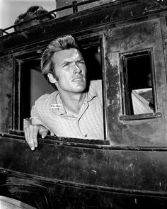 Clint Eastwood in Television Series 'Rawhide' - 'Incident at Poco Tiempo' Photo