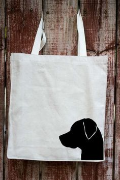 Labrador Retriever Canvas Tote Bag | Pet Themed Totes – Tote Tails - gifts for pet owners & animal lovers