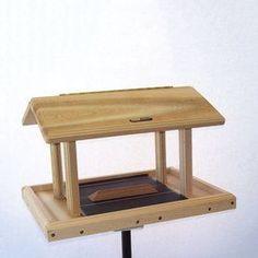 Birds Choice Cedar 11-quart Hopper Bird Feeder Wc4-300s