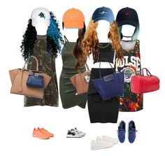 """""""Squad """" by ccfashionstylist ❤ liked on Polyvore featuring Fendi, NIKE, Leith, Love Moschino, Wet Seal, Le Ciel Bleu, New Balance, Y-3, Longchamp and October's Very Own"""