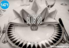 Eat at Club 33... I'm waiting!