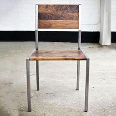 Rough South Home Natural Wood Furniture, Trendy Furniture, White Furniture, Wooden Furniture, Office Furniture, Vintage Furniture, Furniture Design, Walnut Chair, Cool Chairs