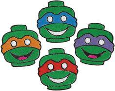 Ninja Turtles Machine Embroidery Design -- 0256