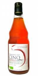 Vinaige de Cidre Bio Sans Sulfite Non Pasteurisé