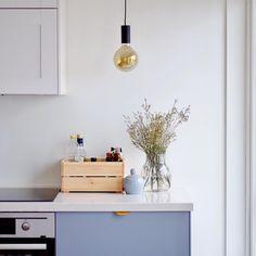 Superfront grey kitchen @deepinthecloud