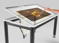 63 New ideas interactive touch screen design Interactive Touch Screen, Interactive Table, Technology Hacks, Technology Design, Technology Logo, Technology Wallpaper, Energy Technology, Technology Apple, Technology Consulting