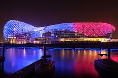The YAS Viceroy Hotel in Abu Dhabi (VIDEO). Glamorous Modern Architecture. Read & Capital Gate Tower Abu Dhabi | canopy u0026 shelter | Pinterest | Abu ...