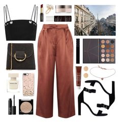 """Aiche"" by sophiehackett ❤ liked on Polyvore featuring Jacquie Aiche, TIBI, Little Liffner, Thierry Mugler, ZOEVA, Yves Saint Laurent, Casetify, Fresh, Korres and David Jones"