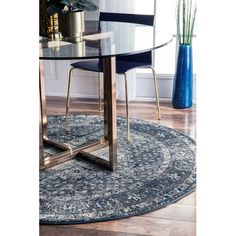 Found it at Wayfair - Vintage Kellum Blue Area Rug