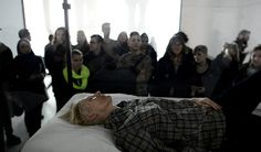 Tilda Swinton The Maybe Art Performance at MOMA