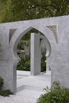 The Beauty of Islam garden, Kamelia Bin Zaal at the Chelsea Flower Show 2015 ... See article for a full history and the lush and fragrant planting list of fruit tree and spices