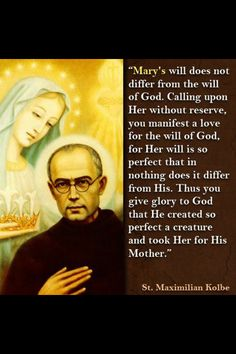 Maximilian Kolbe, pray for us! Great apostle of Marian consecration Catholic Quotes, Catholic Prayers, Catholic Saints, Religious Quotes, Roman Catholic, Catholic Beliefs, Religious People, Religious Education, Religious Art