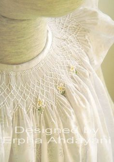 Three Daisies from custom orders facebook page Exclusive Smocking