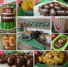 Football Themed Birthday Party (CAKE)