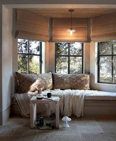 a cozy nook