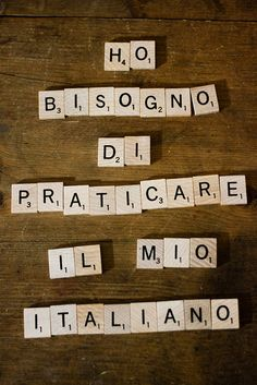 If you cannot read this, then perhaps you do need to practice. ... I need to practice my Italian