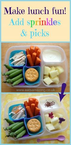Eats Amazing - Simple ways to make lunch more fun for kids