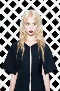 Allison Harvard by Paley Fairman in Spectral for Fashion Gone Rogue - Dress NOTEQUAL by Fabio Costa