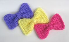 Hair Accessories--Crochet on Pinterest Hair accessories, Crochet ...