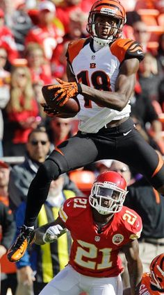 It's a bird, it's a plane, nah, it's just A.J. Green being a pimp...
