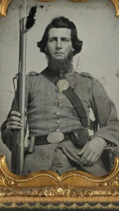 Unknown Confederate soldier from Georgia