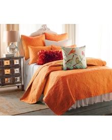 Paisley Quilt Collection - Pumpkin, Main View MIDDLETON PAISLEY QUILT COLLECTION - PUMPKIN Compare at $30.00 – $90.00 $16.99 – $29.99