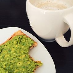 Nothin' but the basics. | 25 Simple And Elegant Avocado Toasts