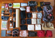 How I lived out of a backpack for 6 months - malwina.me