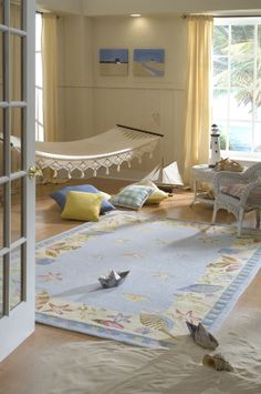Add dreamy design to their bedroom with the uplifting looks of the quality Cumulus Kids Rug from Rug Culture. Coastal Rugs, Coastal Decor, Coastal Entryway, Coastal Curtains, Seaside Decor, Coastal Farmhouse, Modern Coastal, Coastal Cottage, Coastal Style