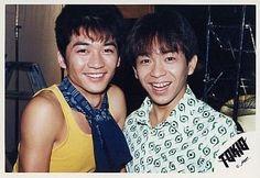 Taichi Kokubun and Shigeru Joshima of TOKIO