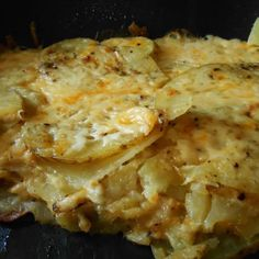 Electric Skillet Cheesy Potatoes Recipe | Just A Pinch Recipes