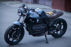 The budget caferacer BMW K100 from Z17Customs (Z17/3 aka The Student's)