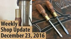 Weekly Shop Update December 23, 2016 - YouTube