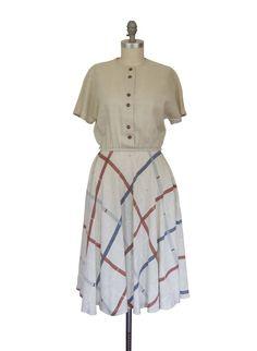 Vintage 70's does 50's Kay Windsor Day Dress by BobcatVintage, $37.00