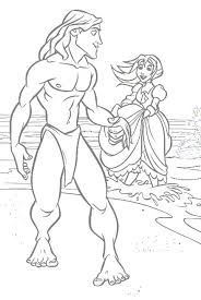 Billedresultat for Tarzan coloring pages