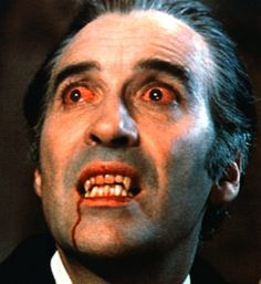 Dracula - Christopher Lee really embodied that original vampire.  I saw every Dracula movie he made.