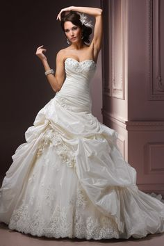 Maggie Sottero A35532     I love this but it may be super heavy!! something to consider. but in love with it
