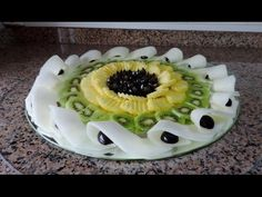 HOW TO MAKE A FRUIT CENTER «NEW IDEA»  By J Pereira Art Carving Fruit - YouTube