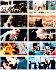 New trailer screencaps ~Divergent~ ~Insurgent~ ~Allegiant~