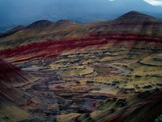 John Day Fossil Beds at National Park in Oregon